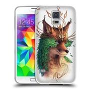 "OFFICIAL JONAS ""JOJOESART"" JODICKE WILDLIFE Fox Coloured Soft Gel Case for Samsung Galaxy S5 / S5 Neo (C_AB_1DBCF)"