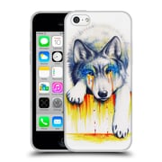 "OFFICIAL JONAS ""JOJOESART"" JODICKE WILDLIFE Drowning In Tears Soft Gel Case for Apple iPhone 5c (C_E_1DBCA)"
