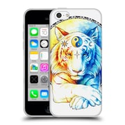 "OFFICIAL JONAS ""JOJOESART"" JODICKE BIG CATS Inner Balance Soft Gel Case for Apple iPhone 5c (C_E_1DBBD)"