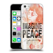 OFFICIAL JOHN LENNON FAN ART Floral Peace Soft Gel Case for Samsung Galaxy S5 / S5 Neo (C_AB_1ABF4)