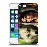 "OFFICIAL JONAS ""JOJOESART"" JODICKE FICTION Princess Mononoke Soft Gel Case for Apple iPhone 5 / 5s / SE (C_D_1DBC5)"