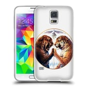 "OFFICIAL JONAS ""JOJOESART"" JODICKE BIG CATS Peace Soft Gel Case for Samsung Galaxy S5 / S5 Neo (C_AB_1DBBF)"