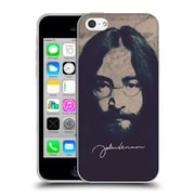 OFFICIAL JOHN LENNON FAN ART Beard Soft Gel Case for Apple iPhone 5c