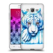"OFFICIAL JONAS ""JOJOESART"" JODICKE BIG CATS Blue Tears Soft Gel Case for Samsung Galaxy Grand Prime (C_B5_1DBB7)"