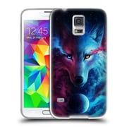 "OFFICIAL JONAS ""JOJOESART"" JODICKE WILDLIFE Wolf Galaxy Soft Gel Case for Samsung Galaxy S5 / S5 Neo (C_AB_1DBD5)"