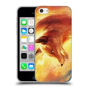 "OFFICIAL JONAS ""JOJOESART"" JODICKE WILDLIFE Fire Fox Soft Gel Case for Apple iPhone 5c (C_E_1DBCD)"