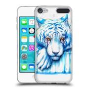 "OFFICIAL JONAS ""JOJOESART"" JODICKE BIG CATS Blue Tears Soft Gel Case for Apple iPod Touch 6G 6th Gen (C_157_1DBB7)"