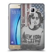 OFFICIAL JOHN LENNON KEY ART NYC Soft Gel Case for Samsung Galaxy On5