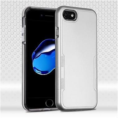 Insten Hard Hybrid TPU Case For Apple iPhone 7 - Silver
