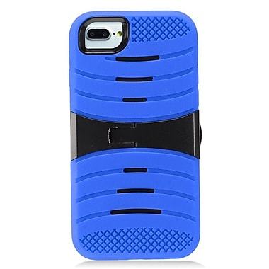 Insten Wave Symbiosis Skin Hybrid Dual Layer Rubber Hard Stand Case For Apple iPhone 7 (4.7