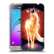 "OFFICIAL JONAS ""JOJOESART"" JODICKE FICTION Last Unicorn Soft Gel Case for Samsung Galaxy J3 (C_1B6_1DBC3)"