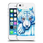"OFFICIAL JONAS ""JOJOESART"" JODICKE BIG CATS Blue Tears Soft Gel Case for Apple iPhone 5 / 5s / SE (C_D_1DBB7)"