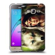 "OFFICIAL JONAS ""JOJOESART"" JODICKE FICTION Princess Mononoke Soft Gel Case for Samsung Galaxy J3 (C_1B6_1DBC5)"