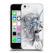 "OFFICIAL JONAS ""JOJOESART"" JODICKE BIG CATS Lion Soul Soft Gel Case for Apple iPhone 5c (C_E_1DBBE)"