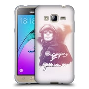 OFFICIAL JOHN LENNON KEY ART Sketch Soft Gel Case for Samsung Galaxy J3