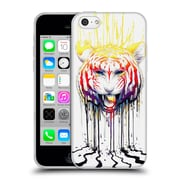"OFFICIAL JONAS ""JOJOESART"" JODICKE BIG CATS Fading Soft Gel Case for Apple iPhone 5c (C_E_1DBB9)"