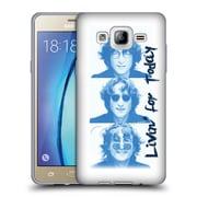 OFFICIAL JOHN LENNON FAN ART Livin' For Today Soft Gel Case for Samsung Galaxy On5