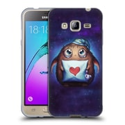 "OFFICIAL JONAS ""JOJOESART"" JODICKE FICTION Cute Monster Soft Gel Case for Samsung Galaxy J3 (C_1B6_1DBC1)"