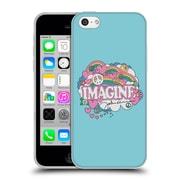 OFFICIAL JOHN LENNON KEY ART Doodle Soft Gel Case for Apple iPhone 5c