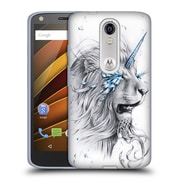 "OFFICIAL JONAS ""JOJOESART"" JODICKE BIG CATS Lion Soul Soft Gel Case for DROID Turbo 2 / X Force (C_1C3_1DBBE)"
