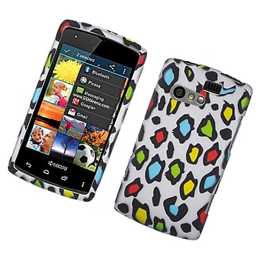 Insten Leopard Hard Rubberized Case For Kyocera Rise C5155 - Multi-Color