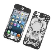 Insten Skull Hard Case For Apple iPod Touch 5th Gen - Black/White
