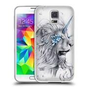 "OFFICIAL JONAS ""JOJOESART"" JODICKE BIG CATS Lion Soul Soft Gel Case for Samsung Galaxy S5 / S5 Neo (C_AB_1DBBE)"
