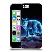 "OFFICIAL JONAS ""JOJOESART"" JODICKE WILDLIFE Ice Fox Soft Gel Case for Apple iPhone 5c (C_E_1DBD0)"
