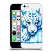 "OFFICIAL JONAS ""JOJOESART"" JODICKE BIG CATS Blue Tears Soft Gel Case for Apple iPhone 5c (C_E_1DBB7)"