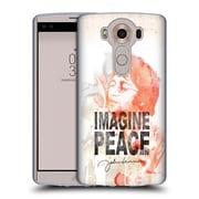 OFFICIAL JOHN LENNON FAN ART Image Peace Soft Gel Case for LG V10