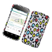Insten Leopard Hard Cover Case For LG Google Nexus 4 - Multi-Color