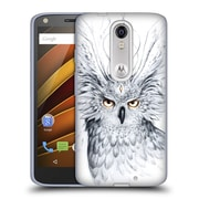 "OFFICIAL JONAS ""JOJOESART"" JODICKE WILDLIFE Owl Soft Gel Case for DROID Turbo 2 / X Force (C_1C3_1DBD2)"