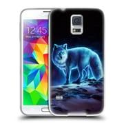 "OFFICIAL JONAS ""JOJOESART"" JODICKE WILDLIFE Ice Fox Soft Gel Case for Samsung Galaxy S5 / S5 Neo (C_AB_1DBD0)"