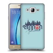 OFFICIAL JOHN LENNON VECTOR Portrait Soft Gel Case for Samsung Galaxy S7 edge (C_1BA_1ABFA)