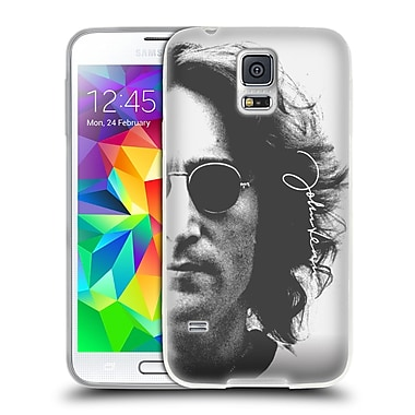 OFFICIAL JOHN LENNON FAN ART Half Face Soft Gel Case for Samsung Galaxy S5 / S5 Neo