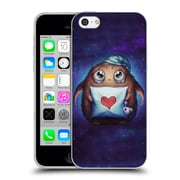 "OFFICIAL JONAS ""JOJOESART"" JODICKE FICTION Cute Monster Soft Gel Case for Apple iPhone 5c (C_E_1DBC1)"