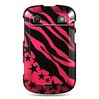 Insten Hard Cover Case For BlackBerry Bold Touch 9900/9930 - Hot Pink/Black