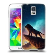 "OFFICIAL JONAS ""JOJOESART"" JODICKE BIG CATS Free Like A Bird Soft Gel Case for Samsung Galaxy S5 / S5 Neo (C_AB_1DBBB)"