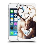 "OFFICIAL JONAS ""JOJOESART"" JODICKE WILDLIFE Circle Of Life Soft Gel Case for Apple iPhone 5 / 5s / SE (C_D_1DBC9)"