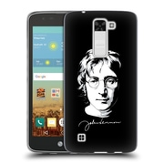 OFFICIAL JOHN LENNON VECTOR Portrait Soft Gel Case for LG K7 K330 / Tribute 5