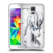 "OFFICIAL JONAS ""JOJOESART"" JODICKE WILDLIFE Capricorn Soft Gel Case for Samsung Galaxy S5 / S5 Neo (C_AB_1DBC8)"