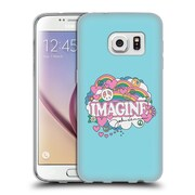 OFFICIAL JOHN LENNON KEY ART Doodle Soft Gel Case for Samsung Galaxy S7