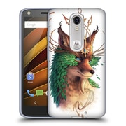 "OFFICIAL JONAS ""JOJOESART"" JODICKE WILDLIFE Fox Coloured Soft Gel Case for DROID Turbo 2 / X Force (C_1C3_1DBCF)"