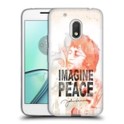 OFFICIAL JOHN LENNON FAN ART Livin' For Today Soft Gel Case for DROID Turbo 2 / X Force (C_1C3_1BA76)
