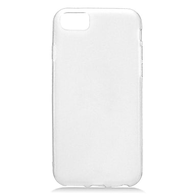 Insten Frosted TPU Rubber Candy Skin Case Cover for Apple iPhone 7 - White