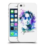 OFFICIAL JOHN LENNON KEY ART Splatter Soft Gel Case for Apple iPhone 5 / 5s / SE