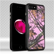 Insten Oak-Hunting Hard Dual Layer TPU Case For Apple iPhone 7 Plus - Pink/Black