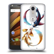 "OFFICIAL JONAS ""JOJOESART"" JODICKE WILDLIFE Eternal Bond Koi Soft Gel Case for DROID Turbo 2 / X Force (C_1C3_1DBCB)"