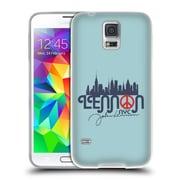 OFFICIAL JOHN LENNON FAN ART Imagine City Soft Gel Case for Samsung Galaxy J3 (C_1B6_1BA75)