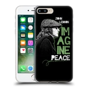 OFFICIAL JOHN LENNON KEY ART Imagine Peace Soft Gel Case for Apple iPhone 7 Plus